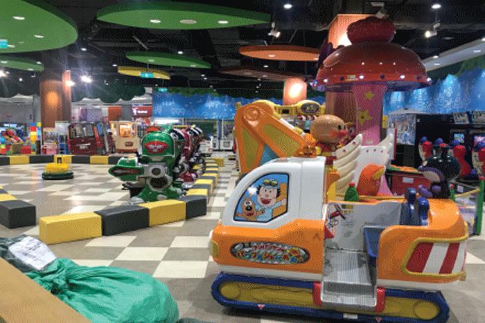 Thiết kế - thi công nội thất khu vui chơi Kidzoona aeon fantasy Cần Thơ
