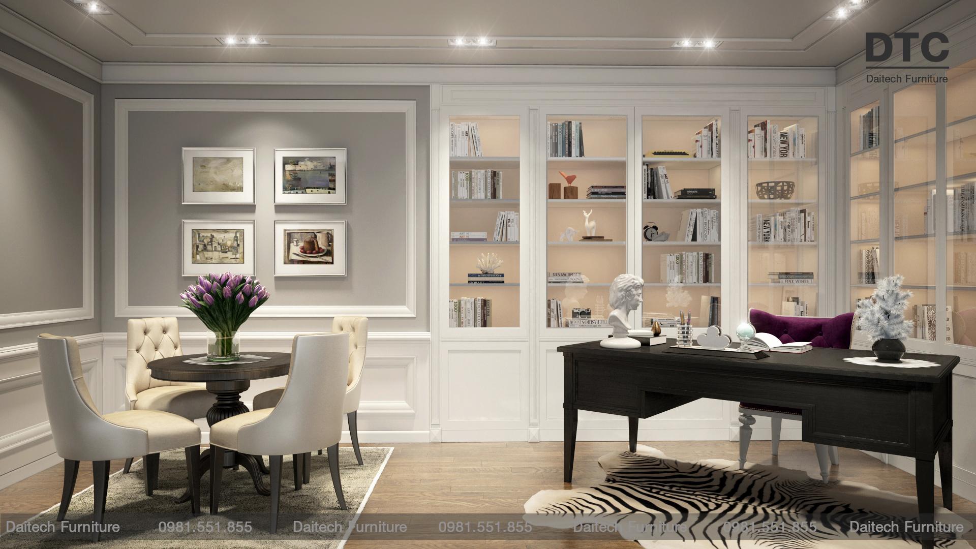 Thiết kế thi công nội thất chuyên nghiệp tại Daitech Furniture